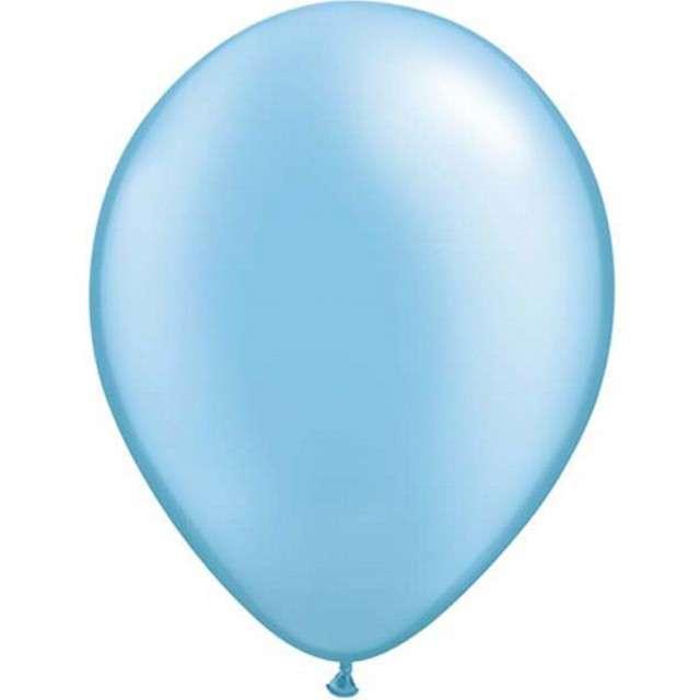 "Balony ""Classic"", niebieski metalik, QUALATEX, 5"", 100 szt"