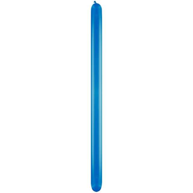 """Balony """"Modeliny 260"""", niebieski ciemny, Qualatex, 50 szt"""
