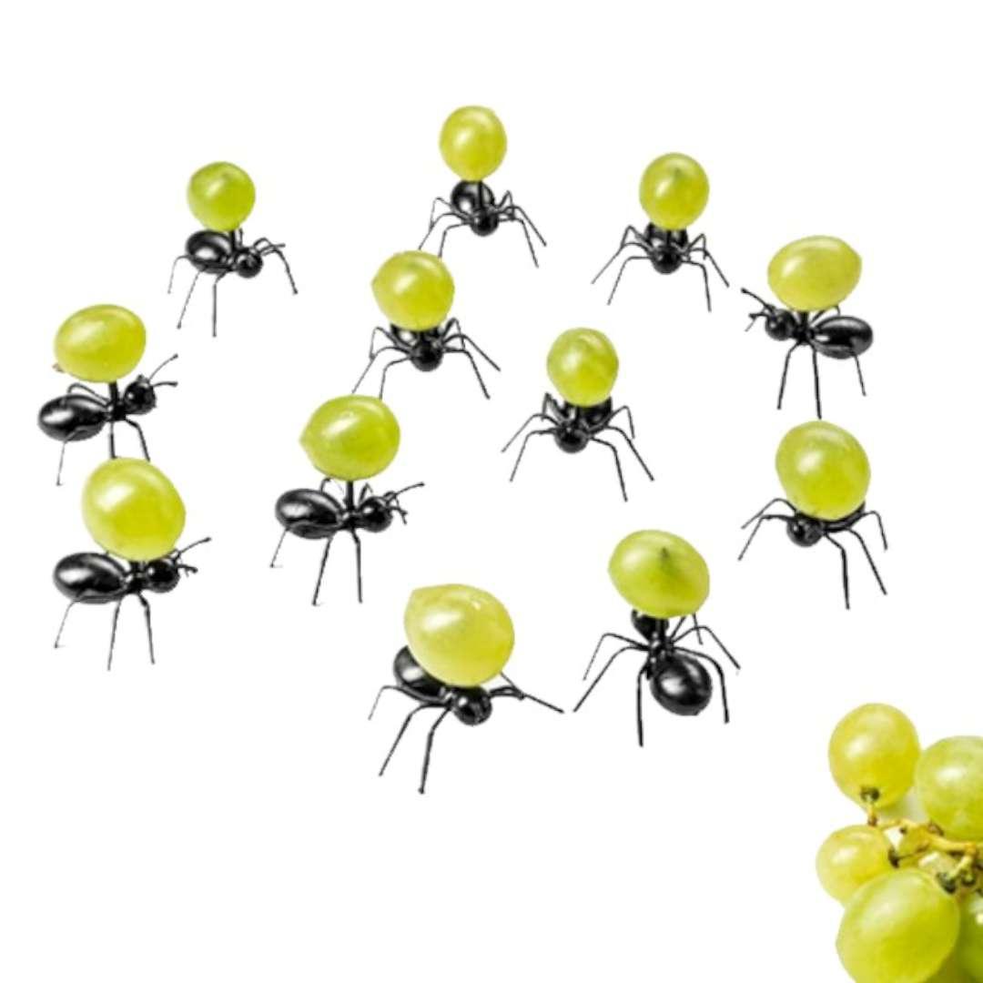 """Podstawki na przekąski """"Imprezowe mrówki"""", GadgetMaster, 12 szt"""