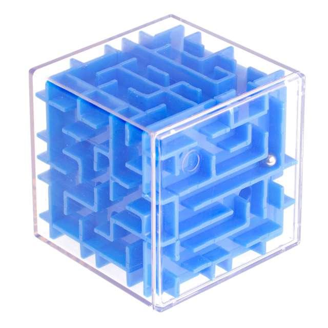 """Łamigłówka """"Labirynt 3D"""", niebieska, Kemiś"""