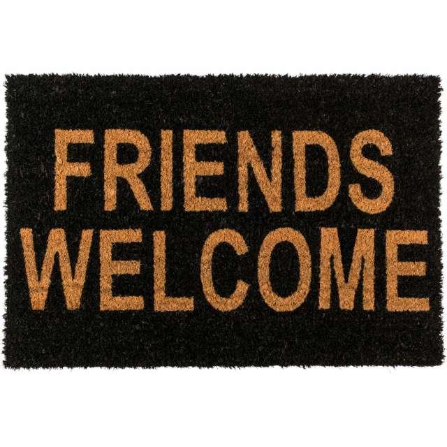 """Wycieraczka """"Friends Welcome"""", OOTB, 60x40 cm"""