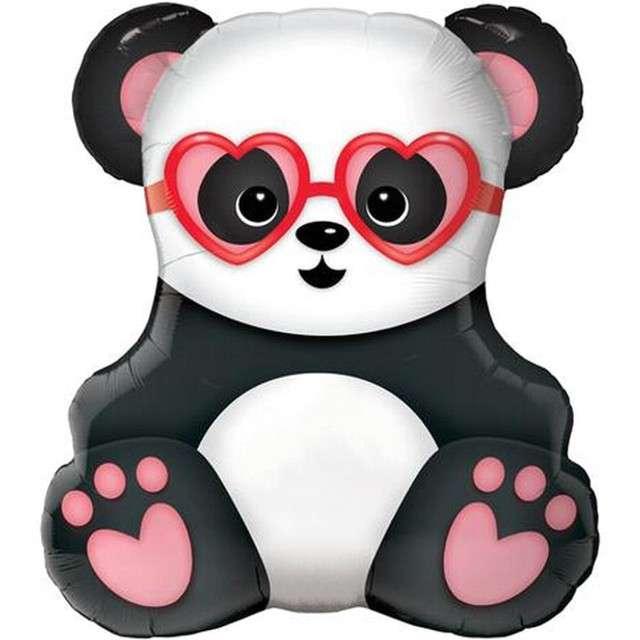 "Balon foliowy ""Zakochana Panda"", QUALATEX, 32"" SHP"