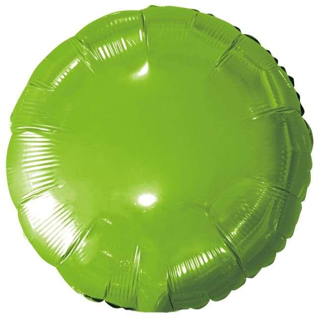 """Balon foliowy """"Classic"""", zielony metalik, Godan, 18"""" RND"""