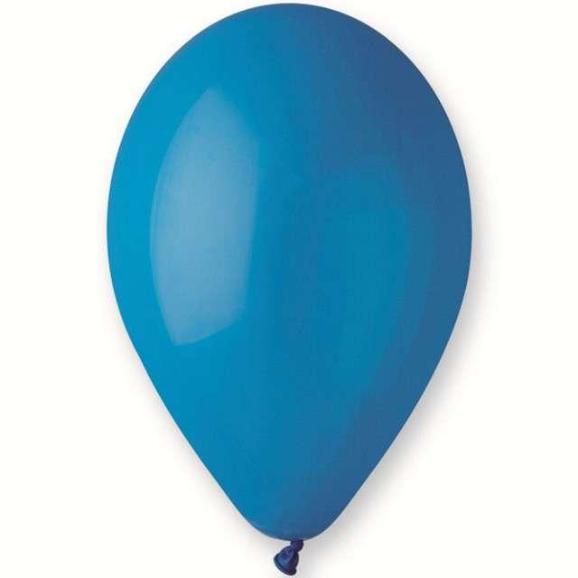 """Balony """"Pastel"""", niebieskie, Gemar, 10"""", 500 szt"""