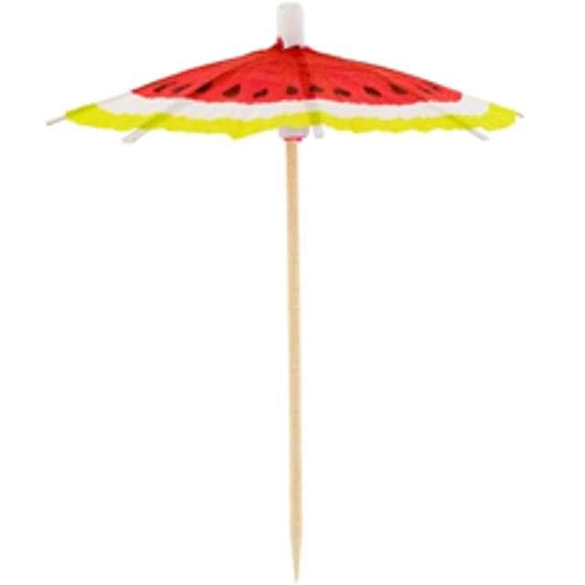 """Parasolki papierowe """"Słodki arbuz"""", Godan, 10 szt"""