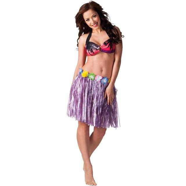 Spódnica Hawajska fioletowa Boland 45cm