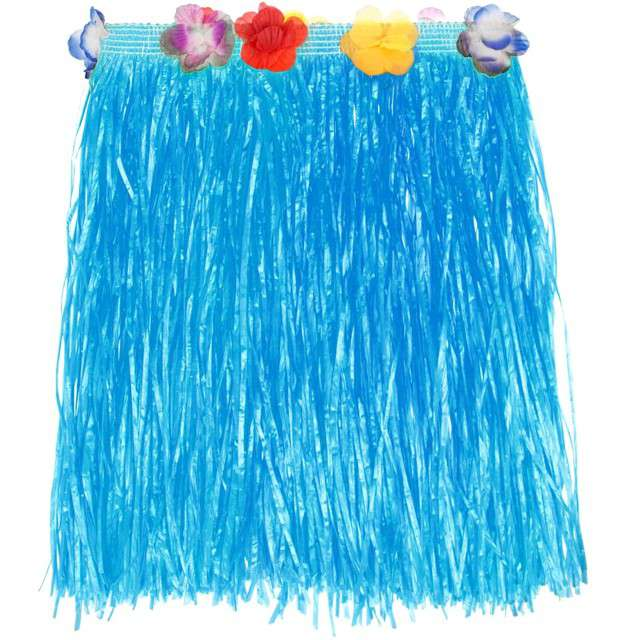 Spódnica Hawajska Krótka niebieska Godan 40 cm