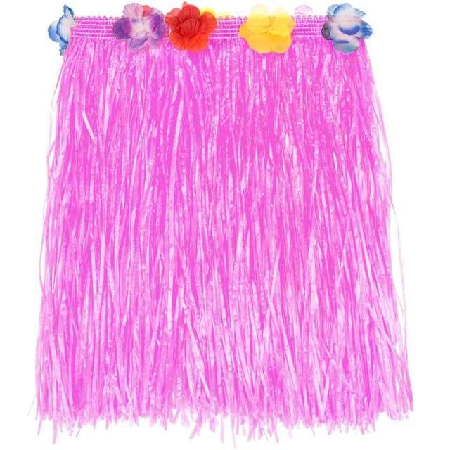 "Spódnica ""Hawajska Krótka"", różowa, Godan, 40 cm"