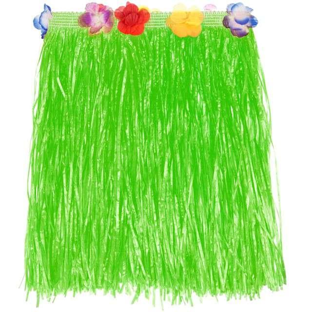 "Spódnica ""Hawajska Krótka"", zielona, Godan, 40 cm"
