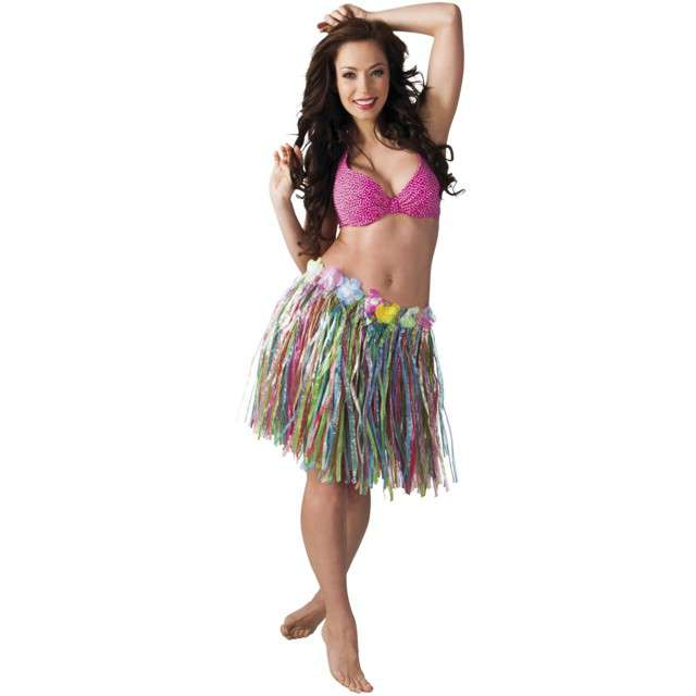 Spódnica Hawajska kolorowa Boland 45cm