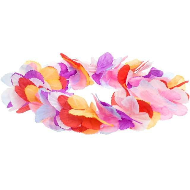 """Wianek """"Hawajskie kwiaty Hibiskusa"""", różowy, Godan"""