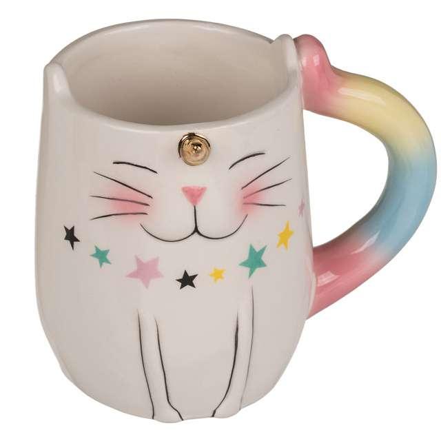 "Kubek ""Kot Jednorożec"", biały, OOTB, 300 ml"
