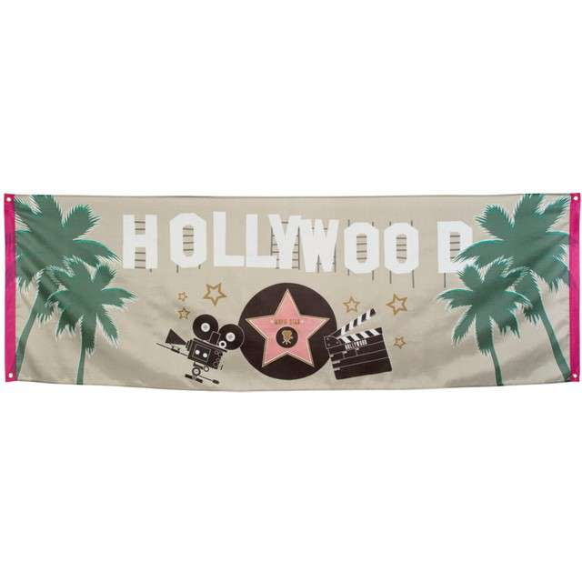 "Baner ""Hollywood"", BOLAND, 220 x 74 cm"