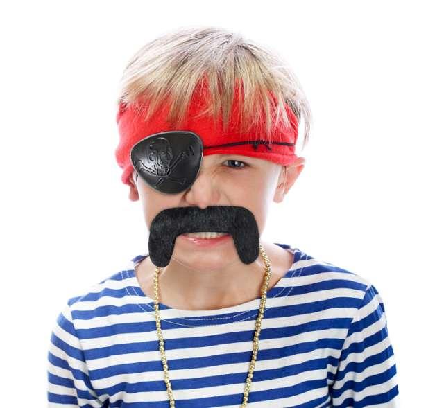"""Zestaw """"Pirat - wąsy i opaska na oko"""", GODAN"""