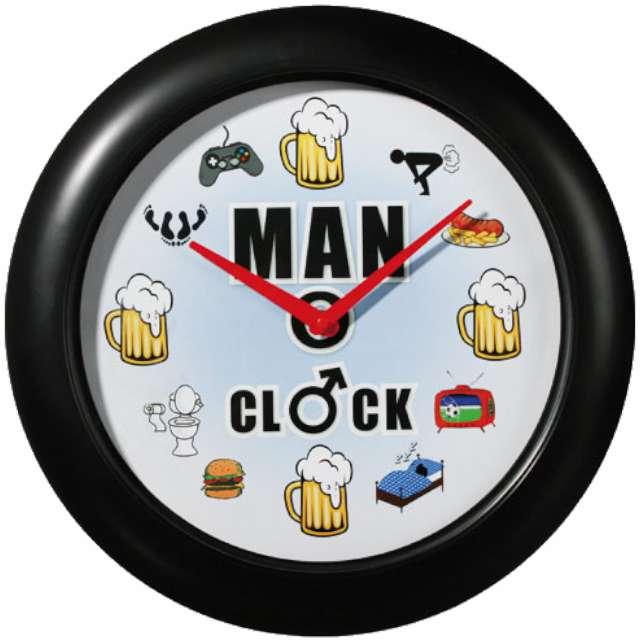 """Zegar ścienny """"Prawdziwego Mężczyzny"""", OOTB"""