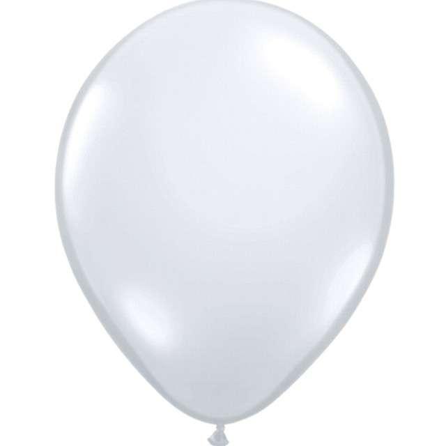 "Balony ""Classic"", srebrny jasny pastel, QUALATEX, 16"", 50 szt"