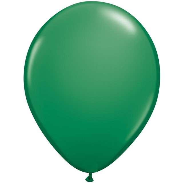 """Balony """"Chromowane"""", zielony ciemny, QUALATEX, 16"""", 50 szt"""
