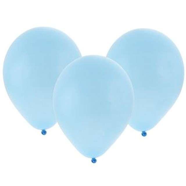 """Balony """"Bronisze"""", pastel błękitne, Godan, 10"""", 100 szt"""