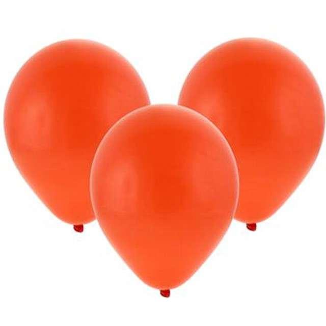 """Balony """"Bronisze"""", pastel czerwone, Godan, 10"""", 100 szt"""