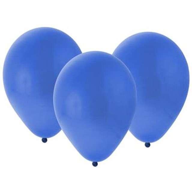 "Balony ""Bronisze"", pastel granatowe, Godan, 10"", 100 szt"