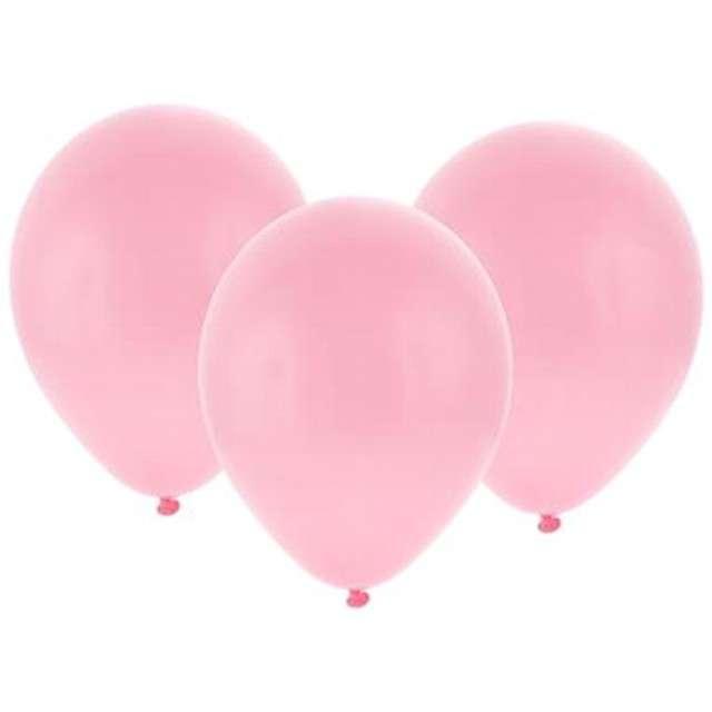 """Balony """"Bronisze"""", pastel różowe jasne, Godan, 10"""", 100 szt"""