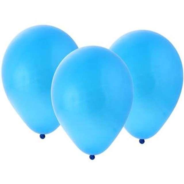 """Balony """"Bronisze"""", pastel niebieskie, Godan, 10"""", 100 szt"""