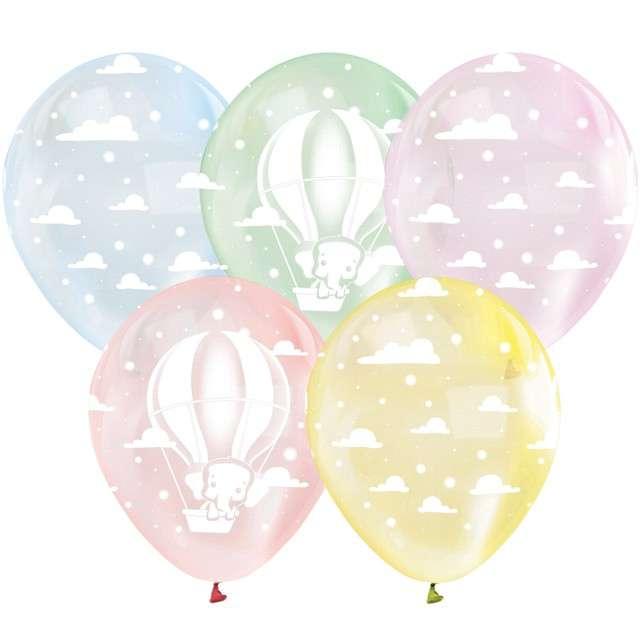 Balony Lot Balonem Godan 12 5szt.