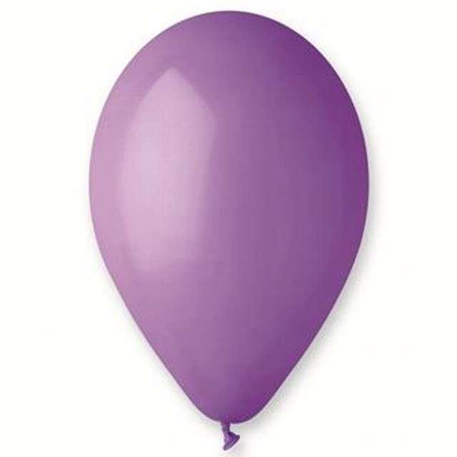 "Balony ""Premium"", lawendowe, Gemar, 10"", 10 szt"