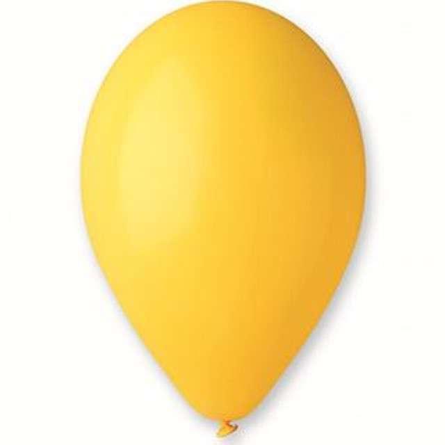 """Balony """"Premium"""", żółte, Gemar, 10"""", 10 szt"""