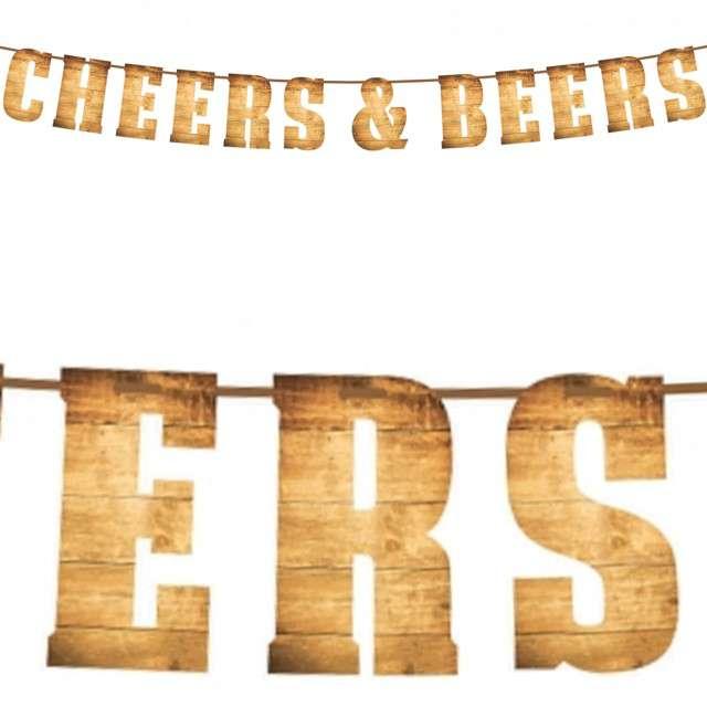 "Baner flagi ""Cheers & Beers"", Godan, 2 m"