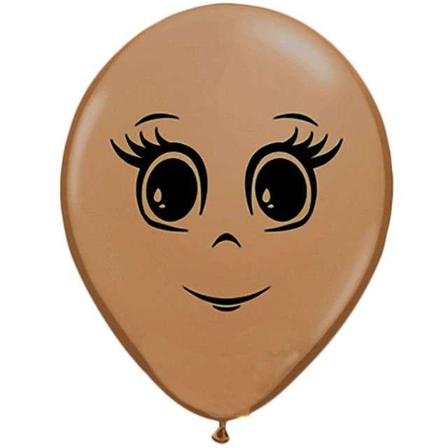 Balony Twarz damska Qualatex 5 100szt.