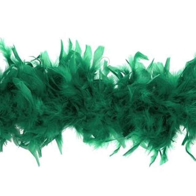 """Boa """"Deluxe"""", zielone ciemne, Godan, 60g, 183 cm"""