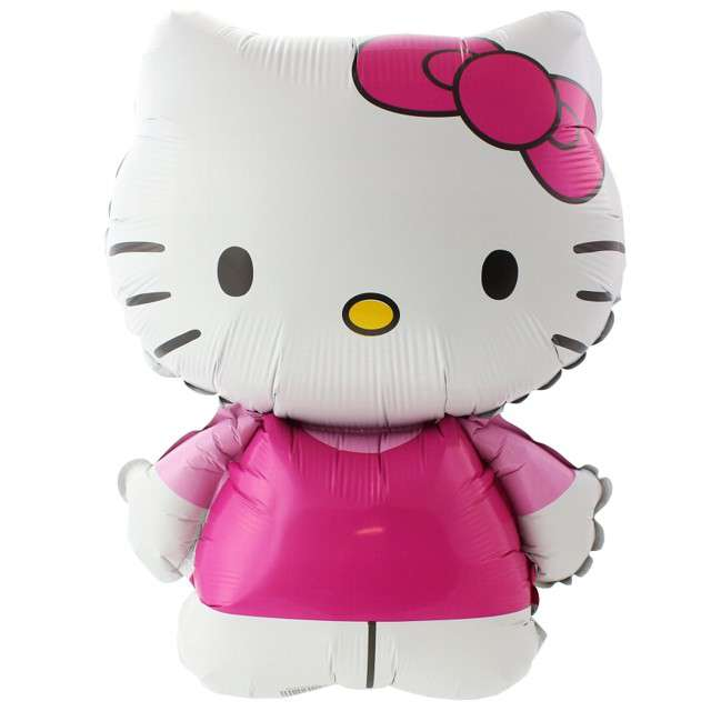 "Balon foliowy ""Hello Kitty"", Flexmetal, 14"", SHP"