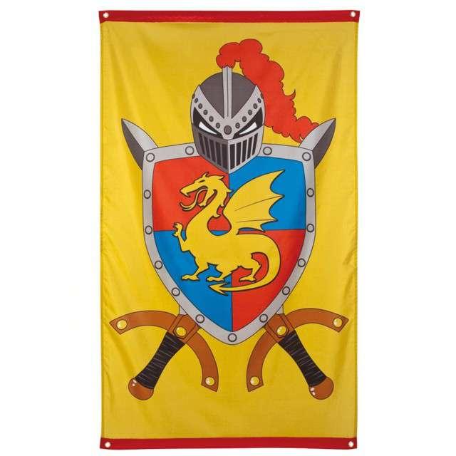 Flaga Rycerze i Smoki - Fantasy Boland 150 x 90cm