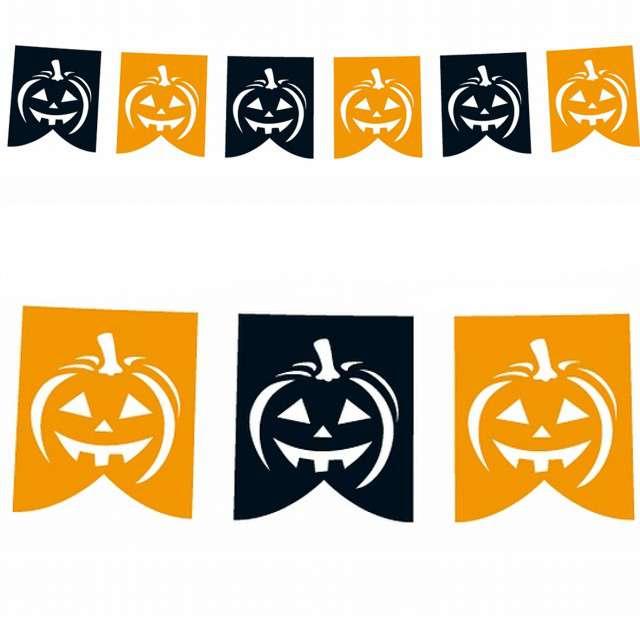 """Baner """"Dynie DIY Halloween"""", Godan, 281 cm"""
