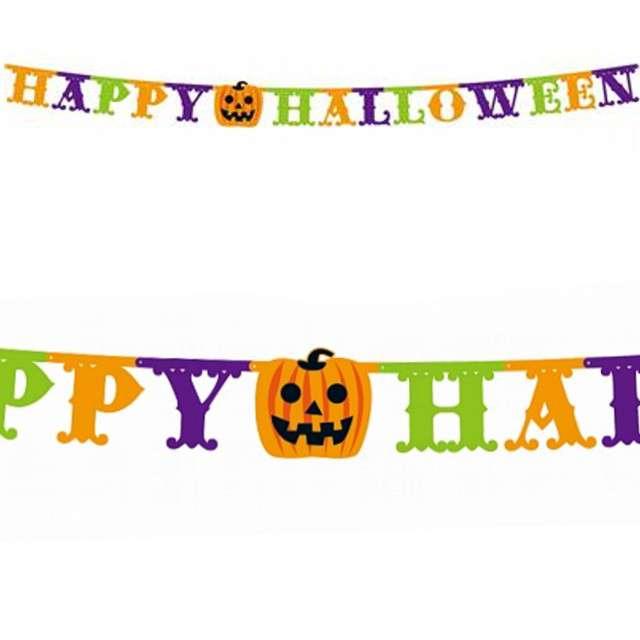 Baner Happy Halloween - Dynie Godan 350cm