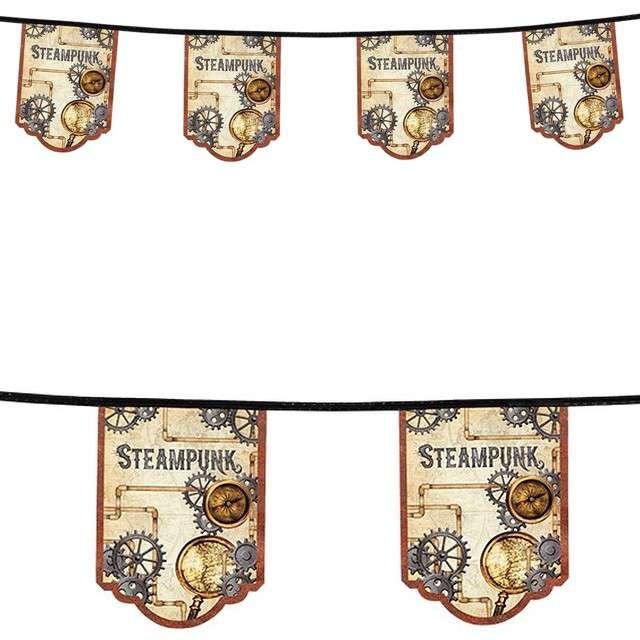 """Baner flagi """"Steampunk"""", Boland, 4 m"""