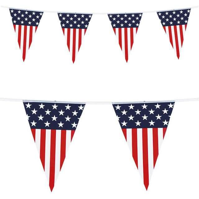 Baner flagi Flaga USA Boland 6 m