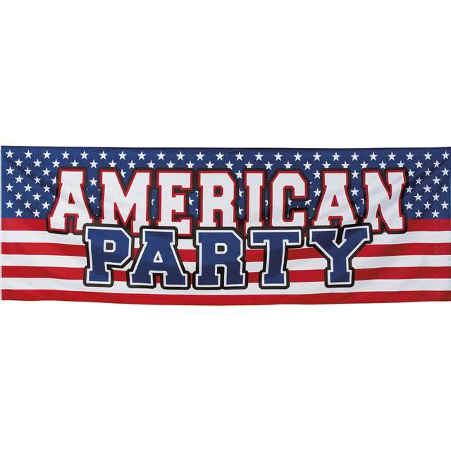 Baner USA - American Party Boland 220cm