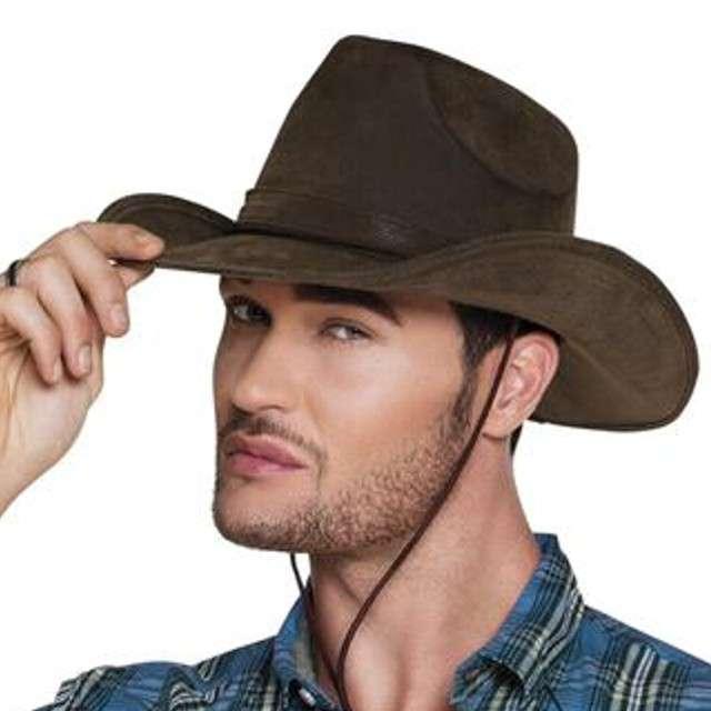 Kapelusz Kowboj z Utah brązowy Boland