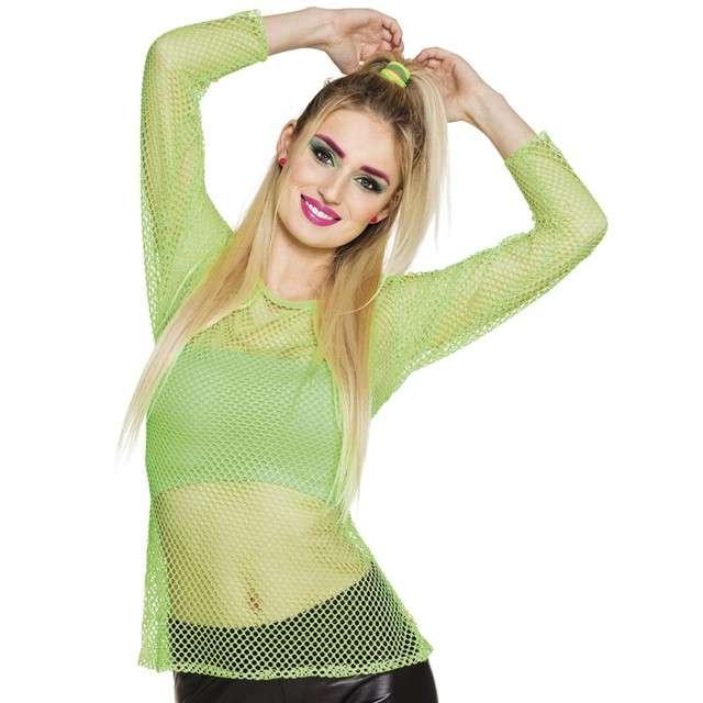 """Koszulka """"Disco Kabaretkowa"""", zielona neonowa, Boland, rozm. M/L"""