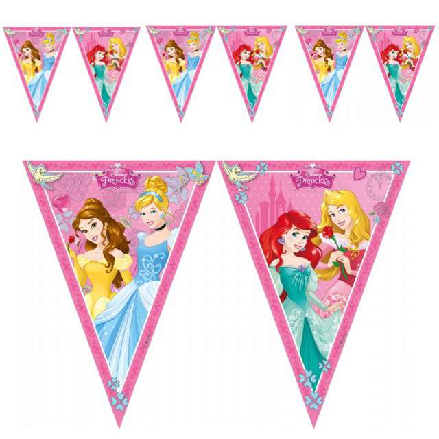 "Baner flagi ""Disney - Princess Dreaming"", PROCOS, 230 cm"