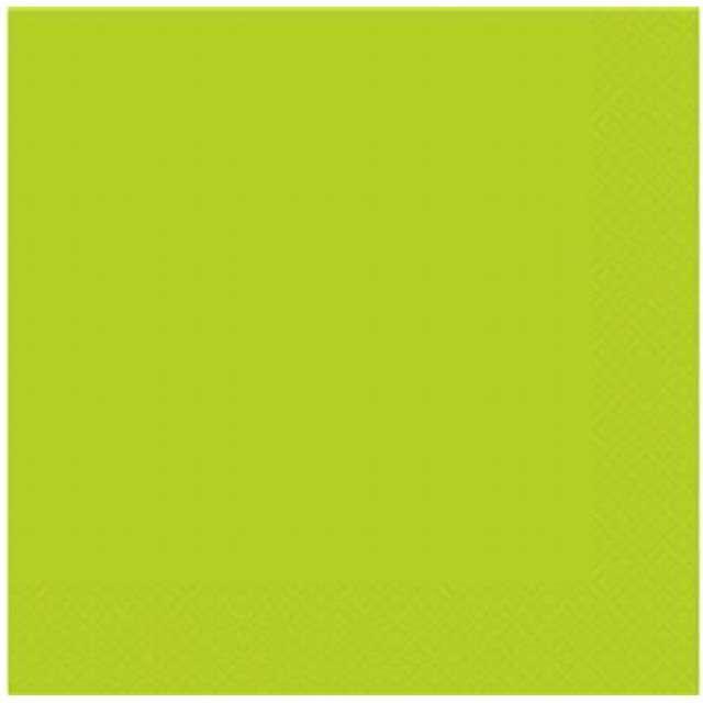"""Serwetki """"Neonowe"""", zielone, Godan, 33 cm, 20 szt"""