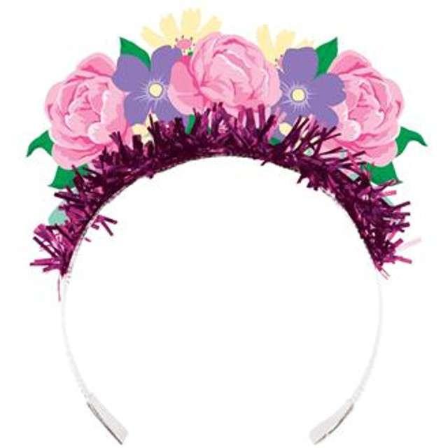 _xx_Tiara z frędzlami Floral Tea Party, 4 szt.