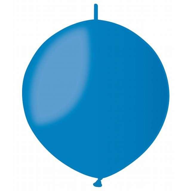 """Balony """"Pastelowe do girland"""", niebieskie, GEMAR, 13"""", 100 szt"""