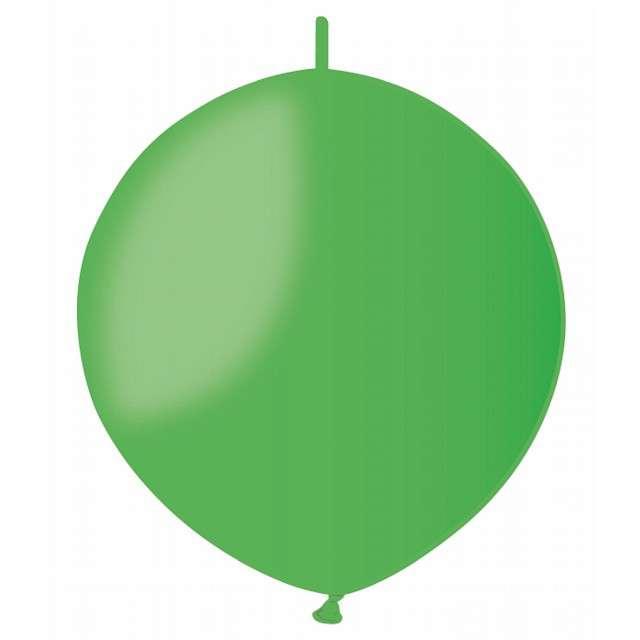 """Balony """"Pastelowe do girland"""", zielony, GEMAR, 13"""", 100 szt"""