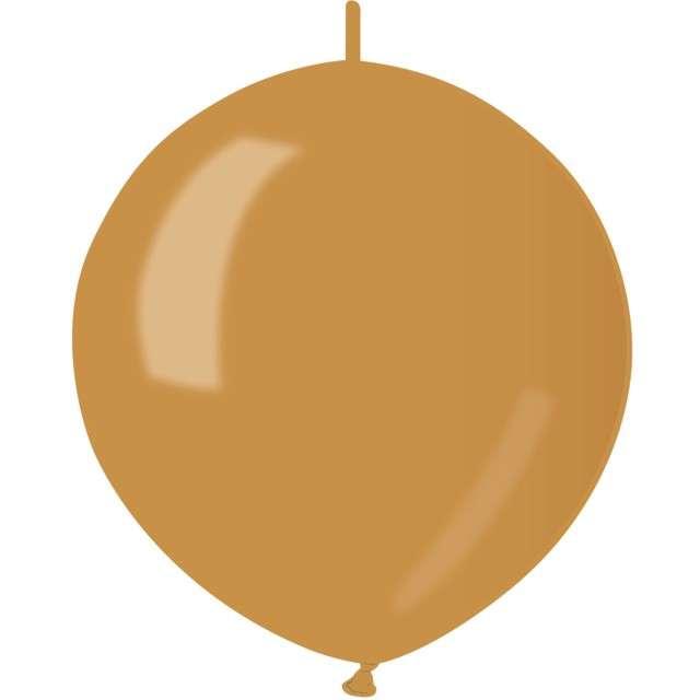 """Balony """"Metaliczne do girland"""", złoty, GEMAR, 13"""", 100 szt"""