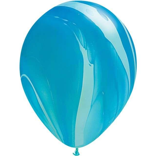 "Balony ""Agat"", niebieski pastel, QUALATEX, 11"", 25 szt"