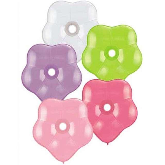 Balony Kwiaty mix Qualatex 16 50szt.