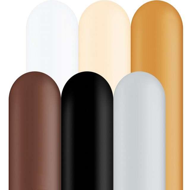 _xx_Balon QL modelina 350, pastel mix dekoracyjny / 100 szt.